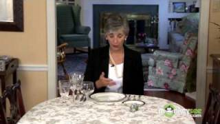 Basic Dining Etiquette - Using Utensils