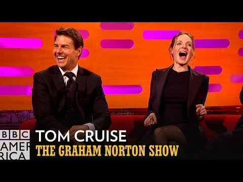 Tom Cruise Has A Very Tom Cruise Answer About His First Paycheck The Graham Norton Show