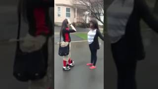 Girl fights in school 2017