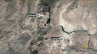 مروحيات النظام تقصف بلدات وادي بردى