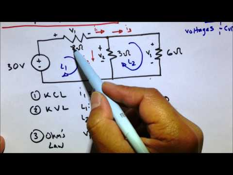 Xxx Mp4 KVL KCL Ohm S Law Circuit Practice Problem 3gp Sex
