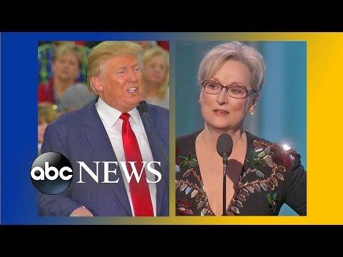 Trump Reacts to Meryl Streep s Golden Globes Speech