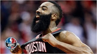 James Harden drops 47 points, avoids a 5-step travel call in win vs. Jazz   NBA Highlights
