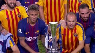 FC Barcelona defeat Real Madrid 3-2 in the El Clasico Miami