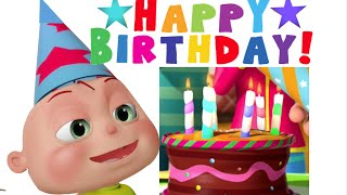 Happy Birthday Song | Videogyan 3D Rhymes | Nursery Rhymes For Children