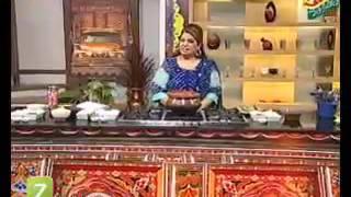Karhi Pakora, Chicken Kaleji And Lassi Recipe  by Shireen Anwer
