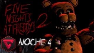 FIVE NIGHTS AT FREDDY'S 2: NOCHE 4 - TENSIÓN Y SUFRIMIENTO EXTREMO | iTownGamePlay (Night 4)