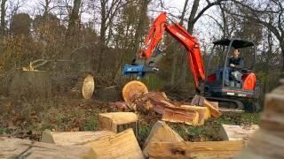 Excavator Log Splitter Project 3