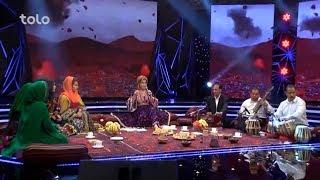 """کنسرت هلال عید - آهنگ زیبای """"باز طلب گارت آمدم"""" از سلما جهانی"""