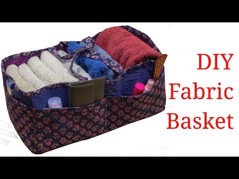 DIY Multi Purpose Organizer from Old Cloth Wardrobe Organization Idea