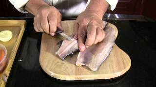 Persian food | How to cook Fish (Mahi) Part 1