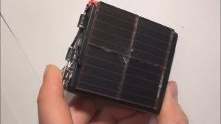 Jak Zrobić Ładowarkę Na ENERGIĘ SŁONECZNĄ / How To Make SOLAR USB Charger