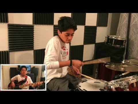 New Light : John Mayer - Drum, Bass and Guitar Cover by Raghav Mehrotra