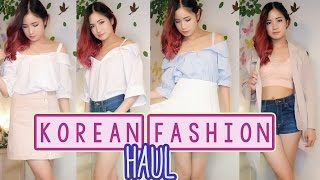 KOREAN Clothing Haul ❤️ Korea Shopping Haul ❤️ Korean Fashion
