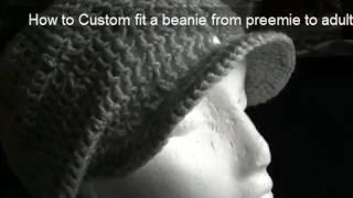 Download How to Crochet a Brim/Peak onto a Beanie 3Gp Mp4