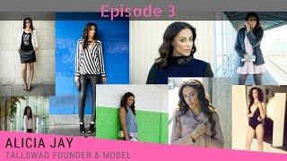 TallSWAG founder, Alicia Jay - Fashion for tall women