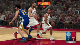 NBA 1/13 Golden State Warriors vs Toronto Raptors Full Game NBA Jan 13 Warriors vs Raptors NBA 2K18