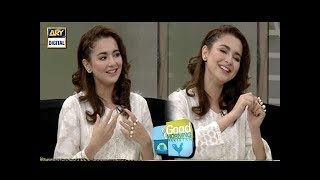 Hania Amir graces 'Good Morning Pakistan' with her presence - ARY Digital Show