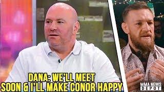 Dana White confirms Conor is not retiring; Woodley denies Lawler bout; Khabib on McGregor; Lobov