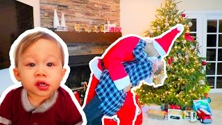 MOM CAUGHT KISSING SANTA CLAUS!!!