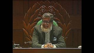 Shamim Osman at parliament 25th January 2017.