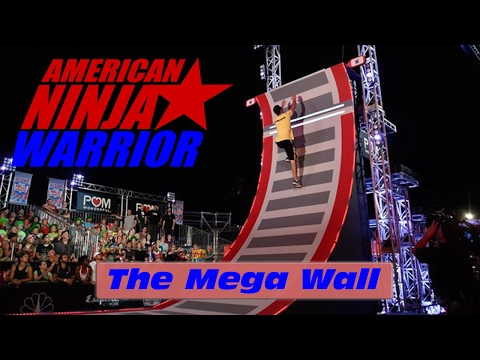 The 19 Mega Wall Warped Wall American Ninja Warrior 2017 All Star Special