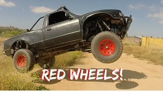 We Painted The Wheels Red!