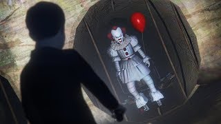 GTA 5 Mods - IT MOVIE PENNYWISE MOD!! GTA 5 Pennywise Mod Gameplay! (GTA 5 Mods Gameplay)