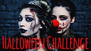 HALLOWEEN CHALLENGE mit Regina I Call of Beauty I Paola Maria