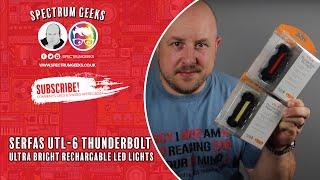 Serfas USL-6 Thunderbolt LED USB Rechargable Light