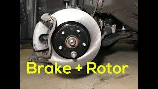 How to Replace Brake Pads and Rotors in Your Car | Toyota Rav4 2013 2014 2015 2016