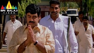 Narasimha Naidu Movie Balakrishna Warning to Mukesh Rishi | Balakrishna, Simran | Sri Balji Video