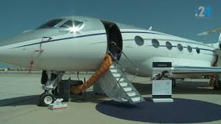 معرض أبوظبي للطيران يعرض أجمل 110 طائرة خاصة في العالم