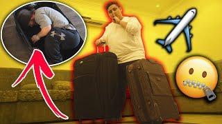 أخطر 5 أشياء الناس هربوها في المطارات 😯 ! ( حطيت صديقي بالشنطه !! )