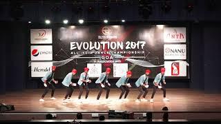 GANG 13 (Mumbai) | Crew | 2nd Runners Up | Evolution 2017- All India Dance Championship GOA