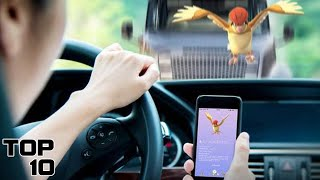 Top 10 Worst Ways To Die While Playing Pokemon Go