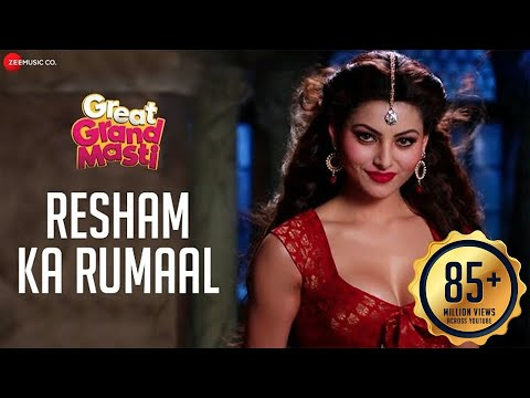 Resham Ka Rumaal - Full Video  Great Grand Masti   Urvashi Rautela, Riteish D, Vivek O, Aftab S