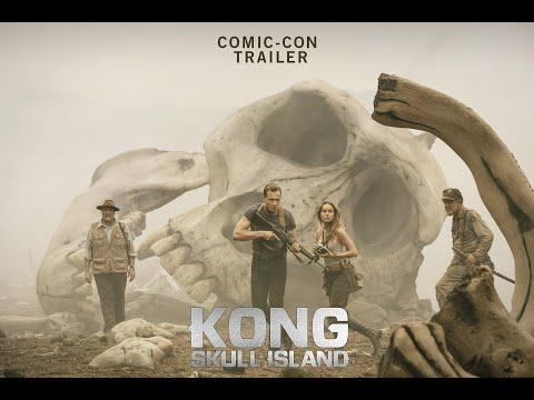 KONG SKULL ISLAND Comic Con Trailer