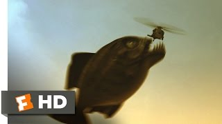 Mega Piranha (10/10) Movie CLIP - You're Fish Food (2010) HD