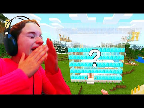 Sabre Cried WHO BUILDS THE BEST MYSTERY HOUSE Minecraft Gaming w The Norris Nuts