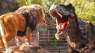 """""""T-Rex VS Lion"""" JURASSIC WORLD 2 Bande Annonce (NOUVELLE, 2018)"""