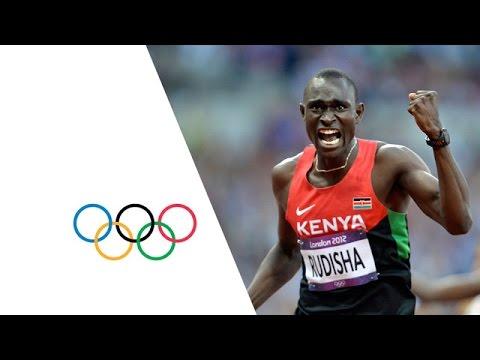 Rudisha Breaks World Record Men s 800m Final London 2012 Olympics