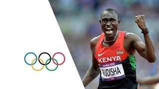 Rudisha Breaks World Record - Men