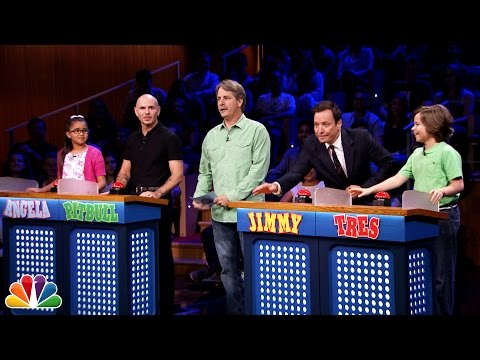 Tonight Show Are You Smarter than a 5th Grader with Pitbull and Jeff Foxworthy