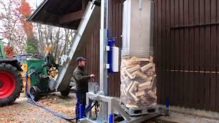 NEU! Binderberger Packmaschine  / Firewood Packing Machine