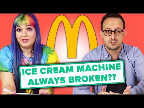 McDonald s Employee Answer Your Questions