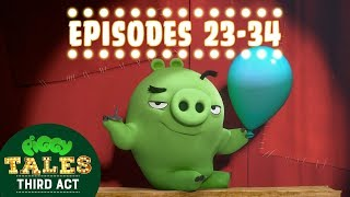 Angry Birds | Piggy Tales | Third Act - Compilation Ep23-34 Mashup