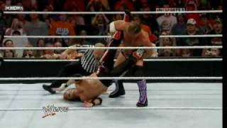 Chris Jericho Turns the Spear to Walls Of Jericho just like Wrestlemania !!