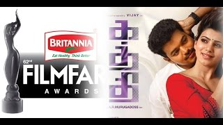Vijay's Kaththi Wins 3 Filmfare Awards