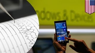 Smartphone Earthquake Warning: scientists turn smartphones into earthquake detectors